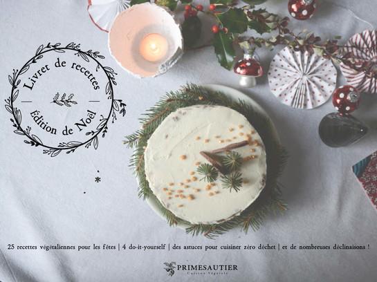 Primesautier   25 recettes de Noël Vegan