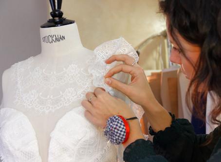 - Rencontre avec - Silvène Hédon, créatrice de robes de mariée et costumes sur-mesure