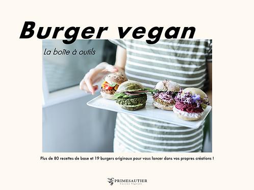 Ebook Burgers Vegan - la boîte à outils