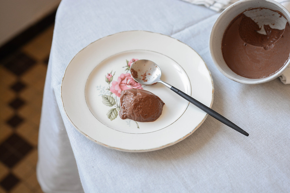 Crème vegan chocolat et agar agar - Primesautier Traiteur végétal