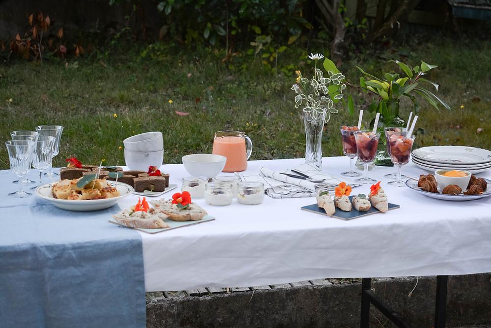 Traiteur vegan nantes 44 buffet champêtre