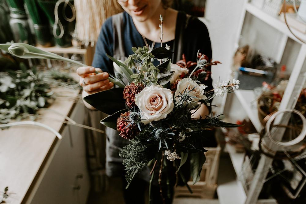 Composition Florales - Fleuriste Mariage Nantes - Atelier Aimer
