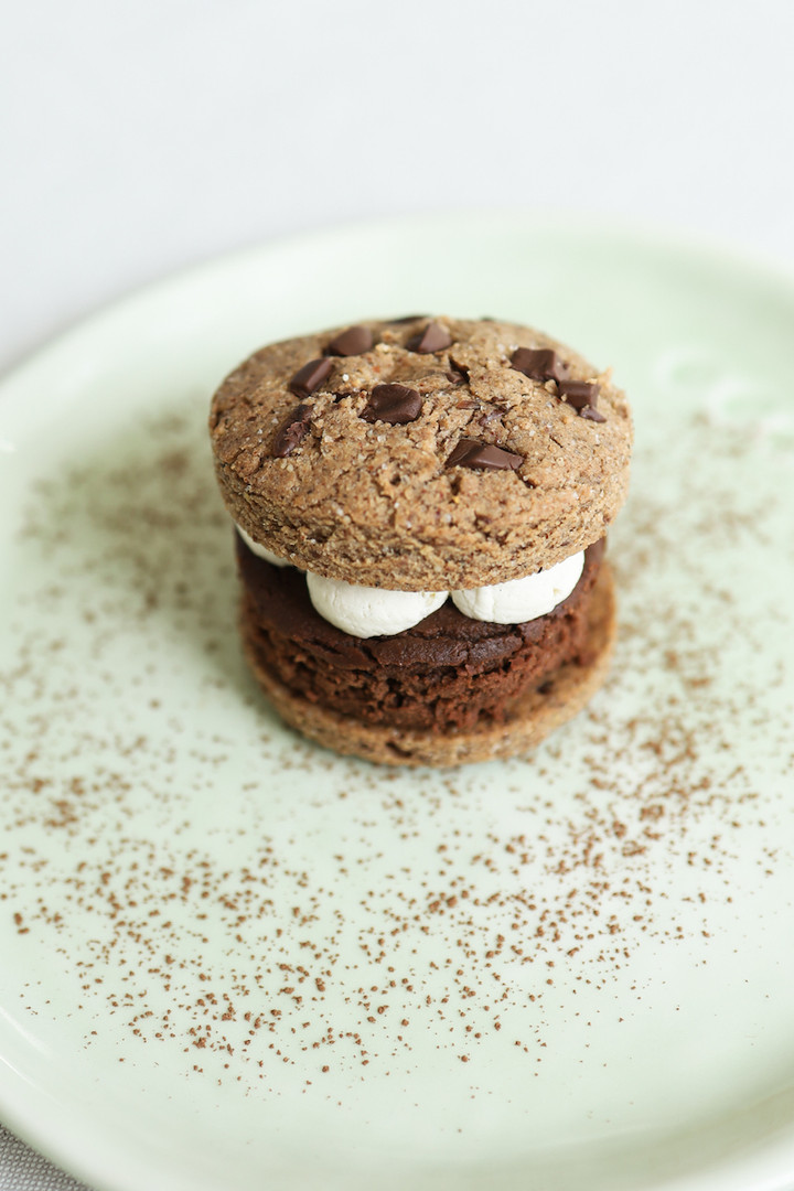 Primesautier | Burger vegan brookie