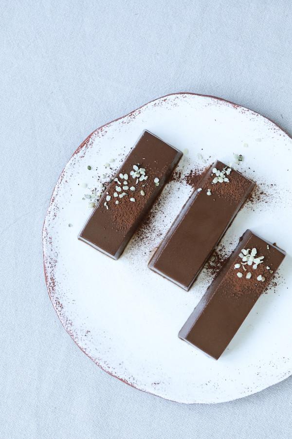 Recette flan végétal au chocolat / Primesautier traiteur vegan