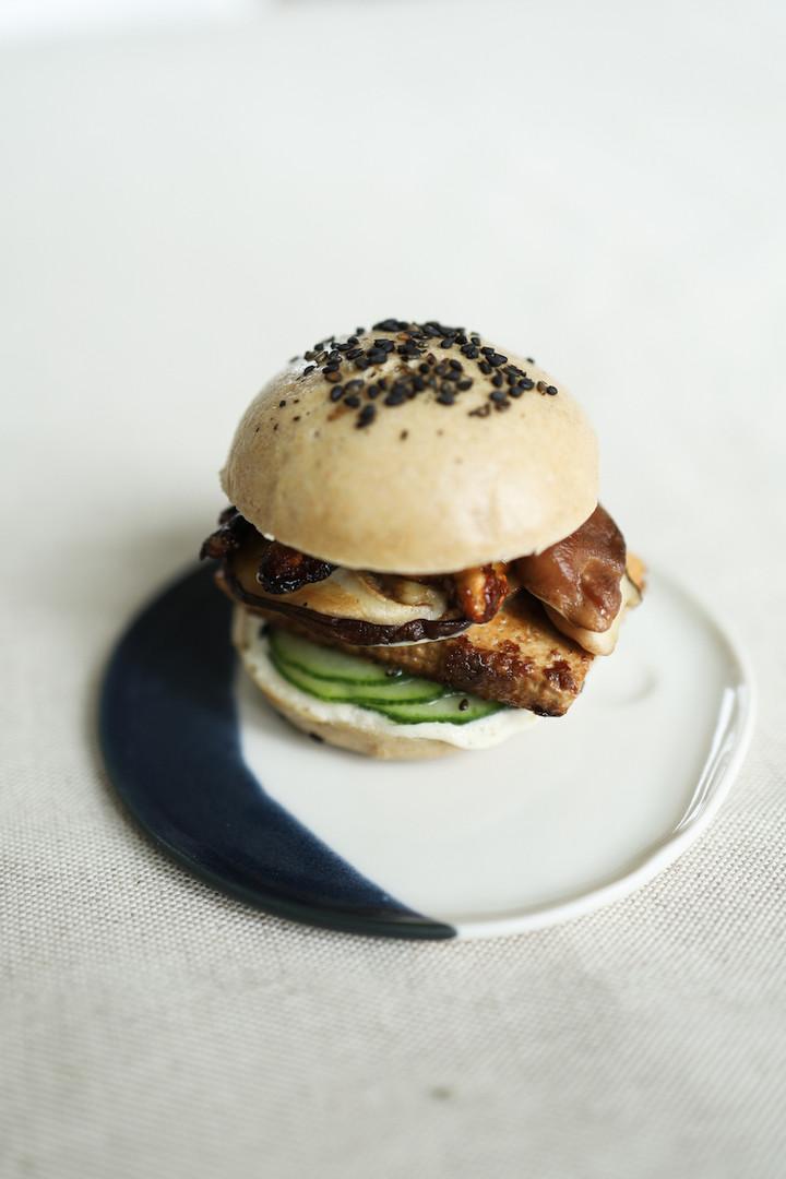 Primesautier | Burger vegan japonais