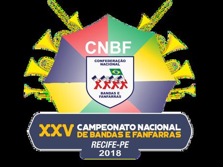 XXV – Campeonato Nacional de Bandas e Fanfarras da CNBF
