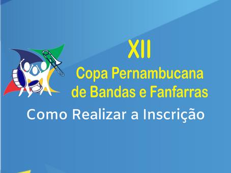Inscrição Copa Pernambucana 2020