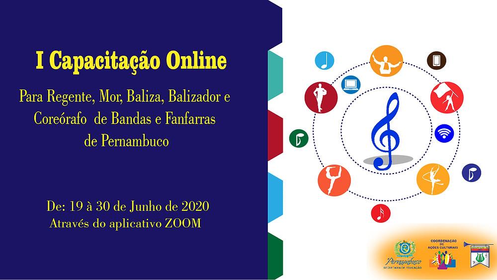 XI Capacitação para Regente, Mor, Baliza, Balizador e Coreógrafos de bandas e Fanfarras de Pernambuco.