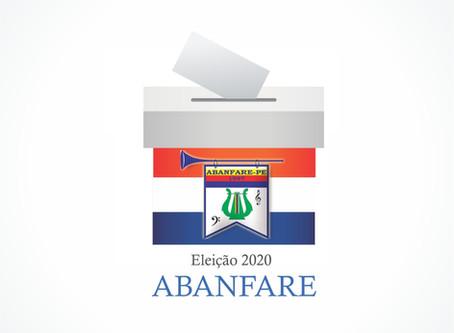 Eleição Abanfare 2020/2024
