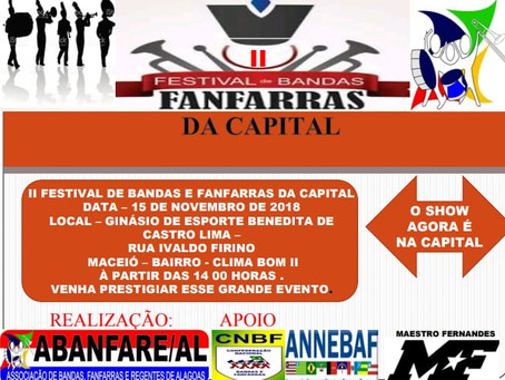 II Festival de Bandas e Fanfarras da Capital