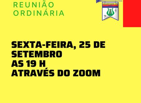 Reunião Ordinária Setembro/2020