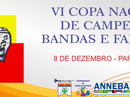 VI Copa Nacional de Campeãs de Bandas e Fanfarras.