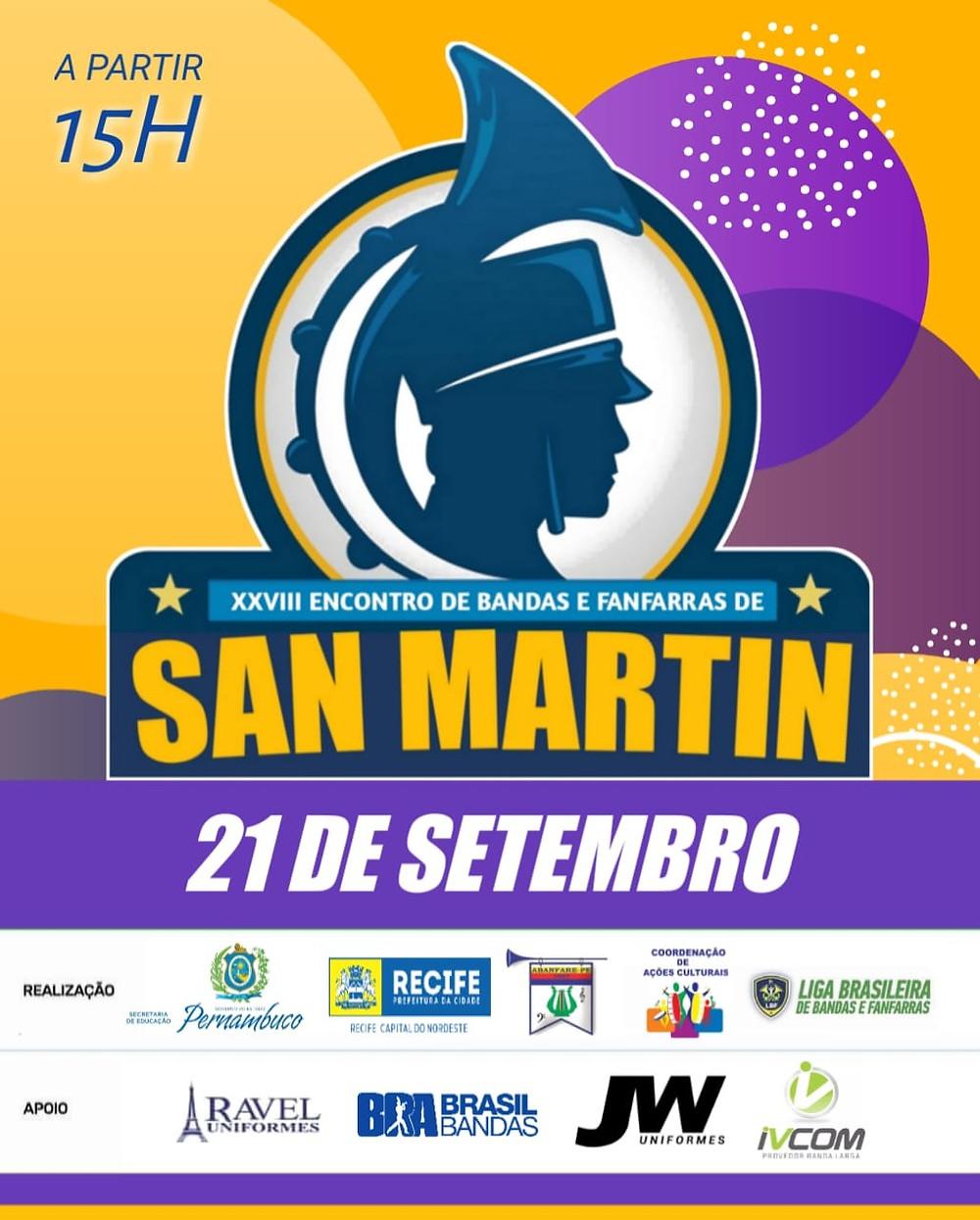Encontro de Bandas e Fanfarras de San Martin