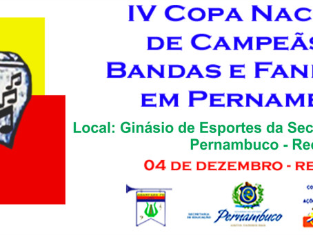 IV Copa Nacional de Campeãs de Bandas e Fanfarras em PE.