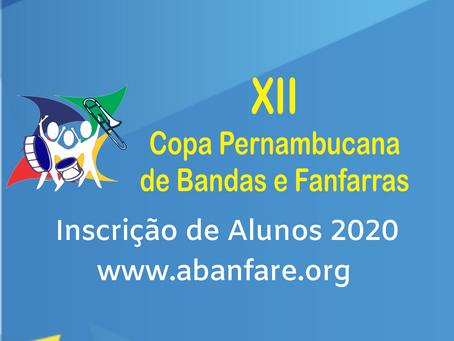 Inscrição para Alunos 2020