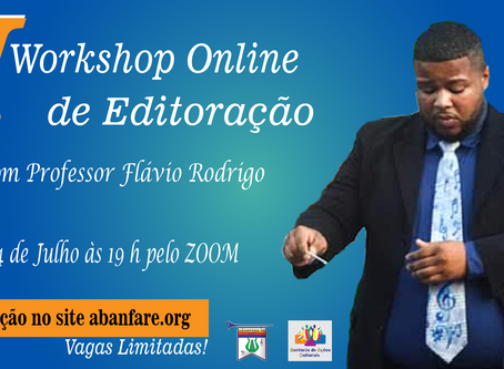 I Workshop Online - Editoração Finale