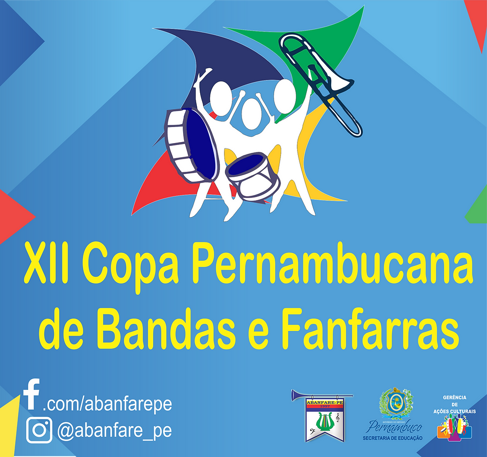 Abanfare PE, Bandas e Fanfarras de Pernambuco, Copa Pernambucana de Bandas e Fanfarras 2020, Inscrição das Escolas