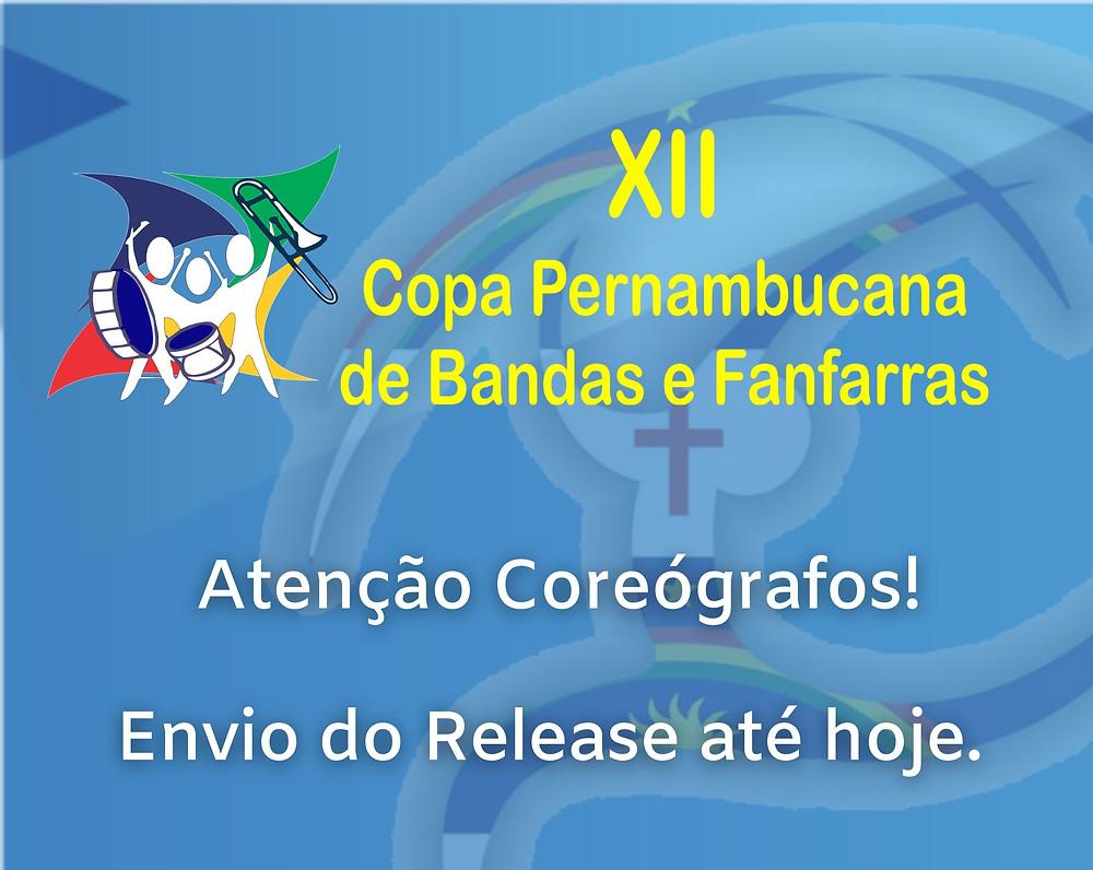 Release Corpo Coreógrafico, Abanfare, Bandas e Fanfarras PE