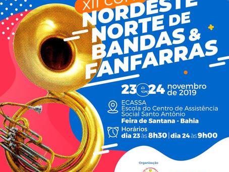 XII Copa Nordeste Norte de Bandas e Fanfarras 2019