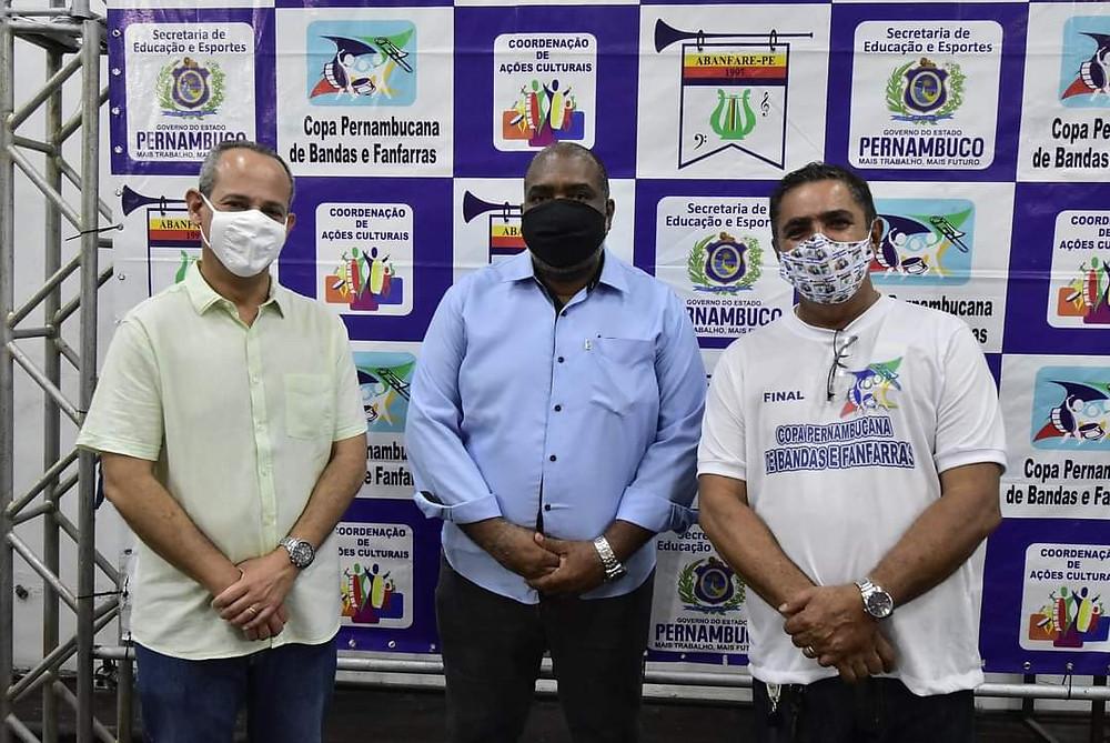 Dr. Fred Amâncio, Mauricio, Waldenilson, Abanfare, Bandas e Fanfarras de Pernambuco