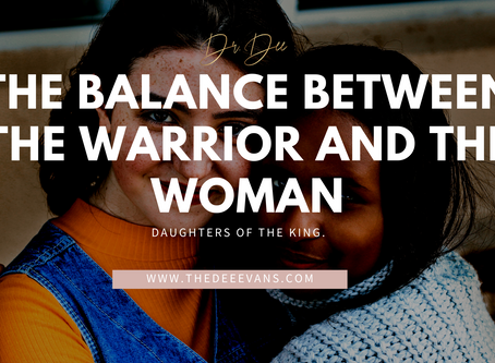 The Balance Between The Warrior And The Woman