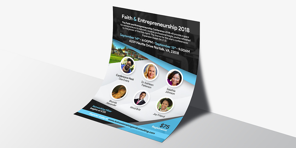Faith & Entrepreneurship Conference 2018