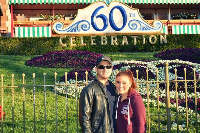 Disneyland Christmas Day 2015