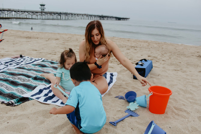 Beach Survival with Kids
