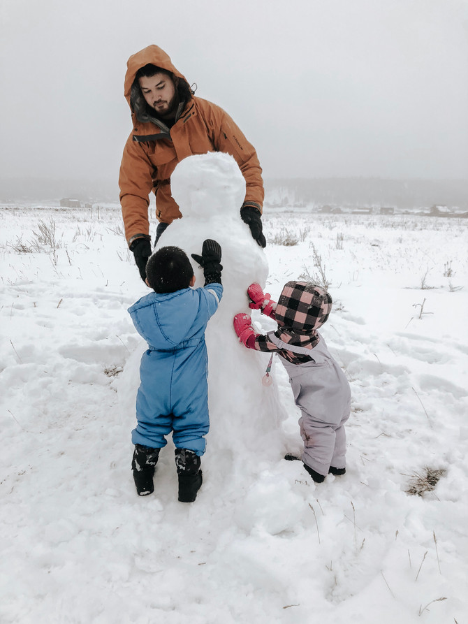 Snow Day with Kids + Must Haves!
