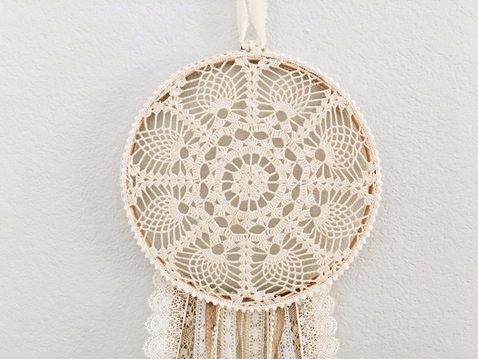 DIY Boho Dreamcatcher