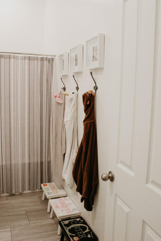 House Tour- Kids & Guest Bathroom