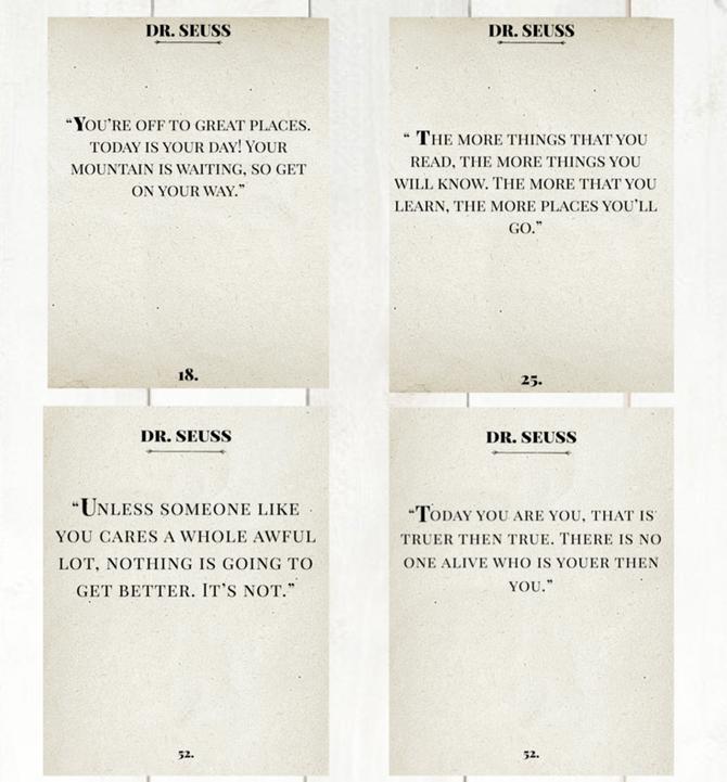 Dr. Seuss Book Pages