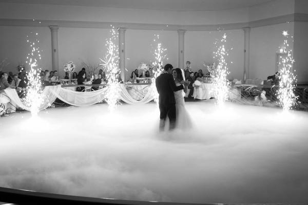 eventos maquina niebla volcanes polvora fria