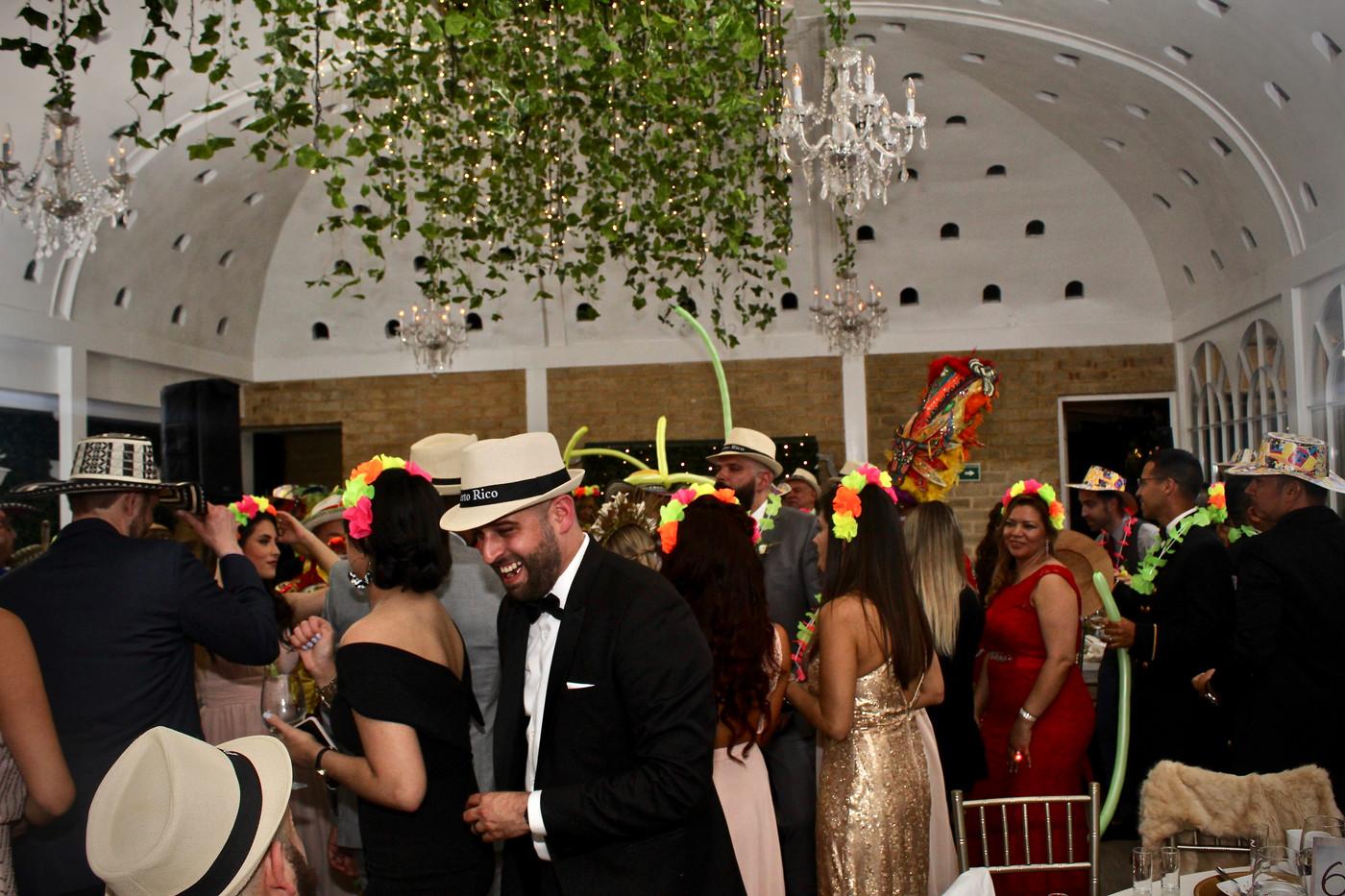Matrimonio colombo-puertorriqueño