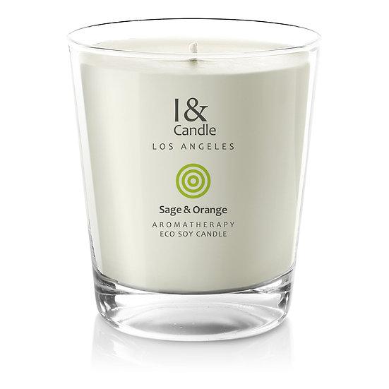 Sage & Orange Aromatherapy Eco Soy Candle