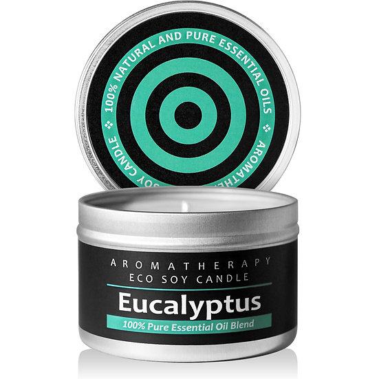 Aromatherapy ECO Soy Candle (Eucalyptus)
