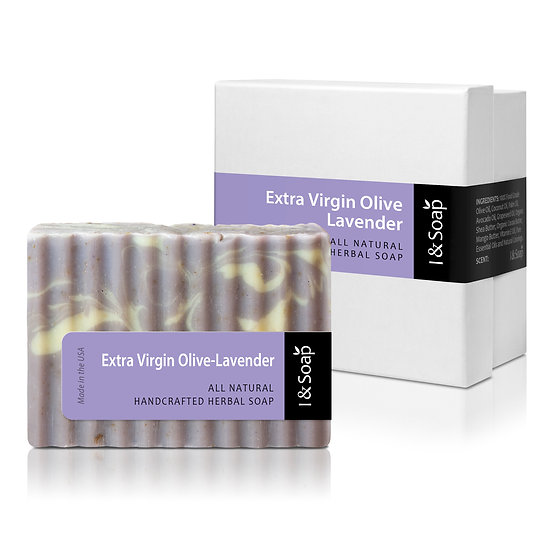 Extra Virgin Olive-Lavender Soap