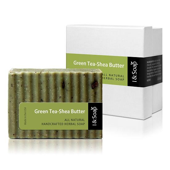 Green Tea-Shea Butter Soap