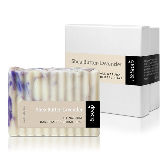 Shea Butter-Lavender Soap