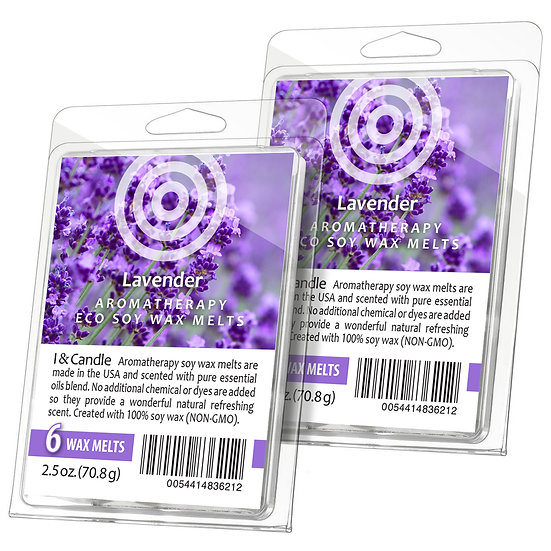 Lavender Aromatherapy Wax Melts  (2 Pack)