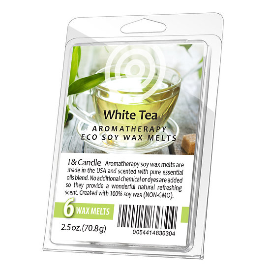 White Tea & Ginger Aromatherapy Wax Melts