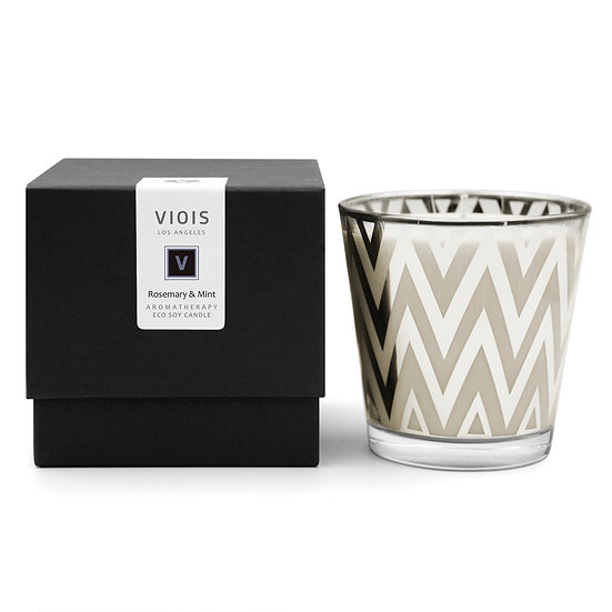 VIOIS, Rosemary & Mint Aromatherapy Eco Soy Candle
