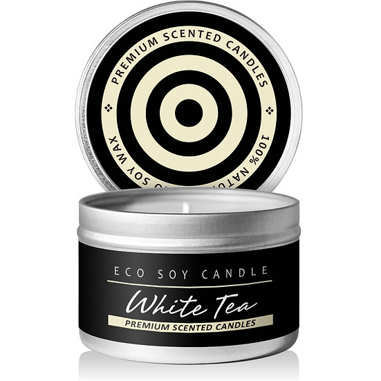Fragrance ECO Soy Candle (White Tea & Ginger)