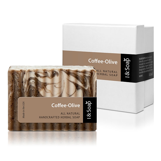 Coffee-Olive Soap