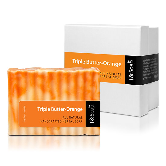 Triple Butter-Orange Soap