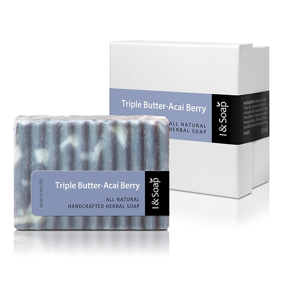 Triple Butter-Acai Berry Soap