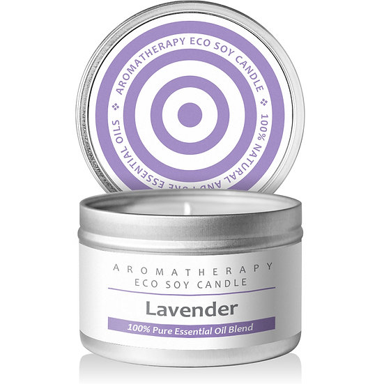 I & Candle, Aromatherapy Soy Wax Scented Candles (Lavender)