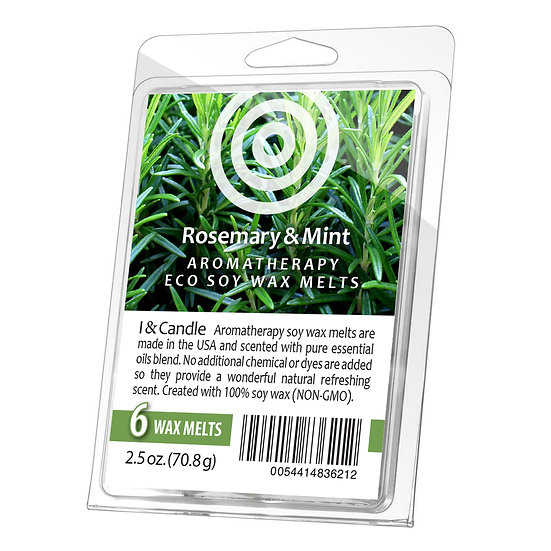 Rosemary & Mint Aromatherapy Wax Melts