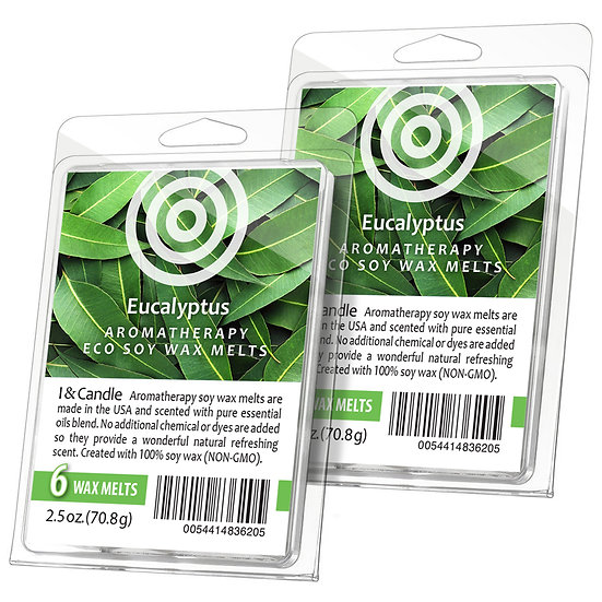 Eucalyptus Aromatherapy Wax Melts (2 Pack)