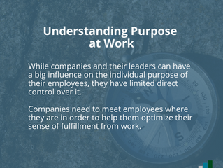 Help Your Employees Find Purpose